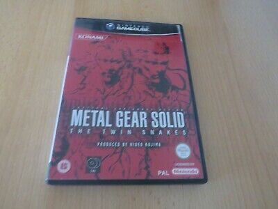 Metal Gear Solid - The Twin Snakes - Nintendo GameCube - pal version