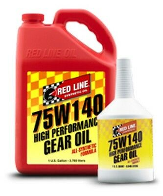Red Line 75W140 GL-5 Gear Oil - 1 Quart