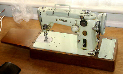 L@@K! Singer 319K Retro Sewing Machine for restoration. COLLECT ONLY