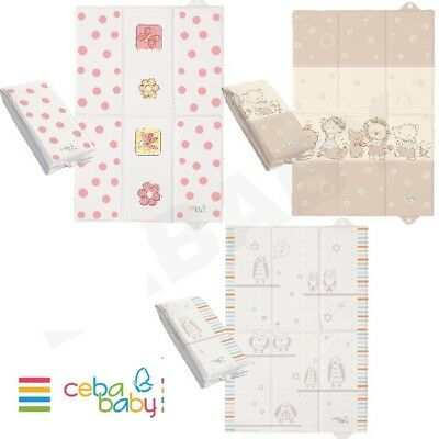 BABY TRAVEL CHANGING MAT SOFT BASE 40X60 cm best quality Ceba Baby