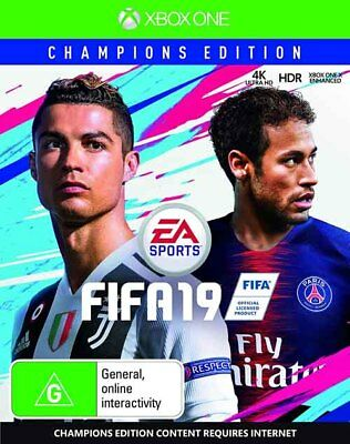 New FIFA 19 Champions Edition XBOX ONE in Sealed Condition Australian Stock