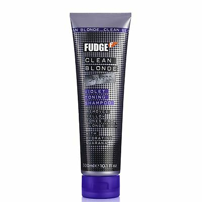 Fudge Clean Blonde Violet-Toning Shampoo