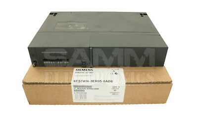 Siemens 6Es7416-3Er05-0Ab0 Simatic S7-400, Cpu 416-3 Pn/dp Cen - Reconditioned