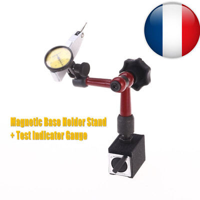 Flexible Magnetique Base Support Stand et Indicateur à cadran Comparateur Test