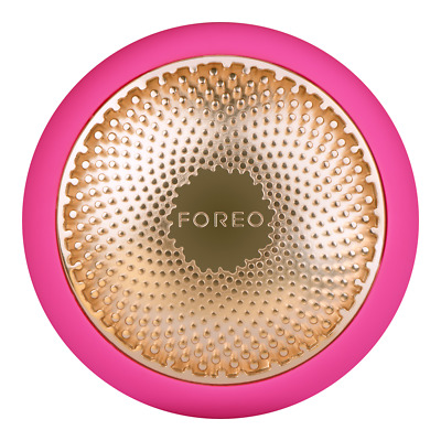 GENUINE Foreo UFO Fuchsia LED Thermo Activated Smart Mask Facial Treament