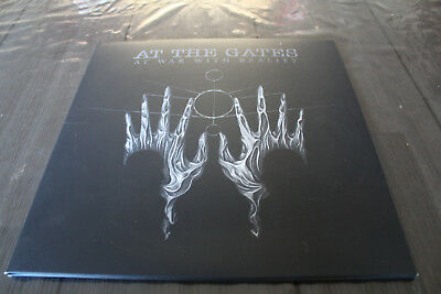 """At the Gates - At war with Reality / 12"""" gatefold"""