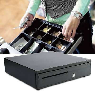 12V/24V Heavy Duty Cash Till Drawer Removable Insert with 5 Bills 5 Coins Tray