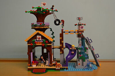 Lego Friends Adventure Camp Tree House 41122 With Instructions