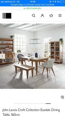 Astonishing John Lewis 6 8 Seater Oak Dining Table John Lewis Easdale Andrewgaddart Wooden Chair Designs For Living Room Andrewgaddartcom