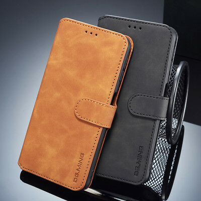 For Samsung Galaxy A7 2018, Luxury 360° Full Cover Flip Leather Wallet Card Case