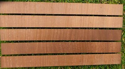 "Mahogany Veneer Crossbanding  Antique Furniture approx 2 mm thick 62""/1560 mm"