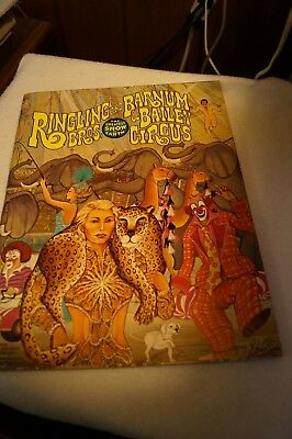 Ringling Brothers Circus program 107th Edition.  1977