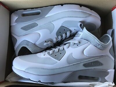 purchase cheap aff73 2f5f1 NIKE AIR MAX 90 Ultra Mid Winter White Pure Taille 44,5 Neuve Et Authentique