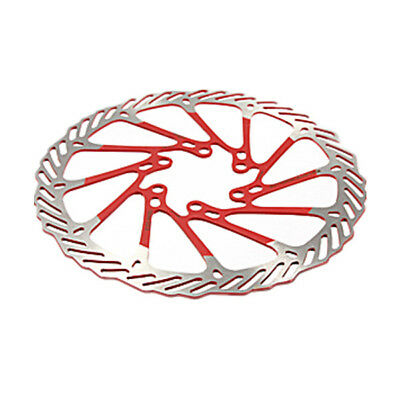 5X(2 x MTB Bike Stainless Steel Disc Brake Rotor 160mm with 12 Bolts Set Red MO