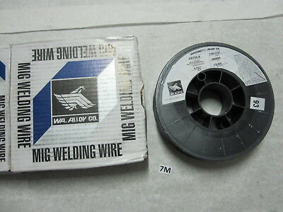 "One New Washington Alloy .023"" ER-70S-6 Carbon Steel Mig Wire - 11 Lb Spool"