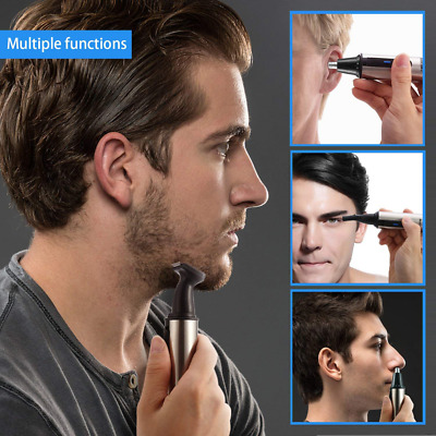 3 in1 Men's Nose Ear Hair Trimmers Hair Clippers Eyebrow Remover Grooming Kit