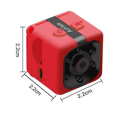 Portable Mini Camera Waterproof Covert Spy Hidden HD DV 1080P Motion Detection