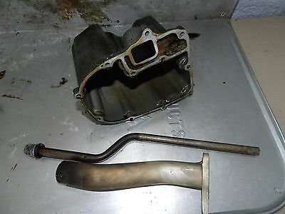 1999 Honda BF50A BF 50 HP Outboard Lower Engine Oil Pan Pickup Exhaust Pi (? 40)