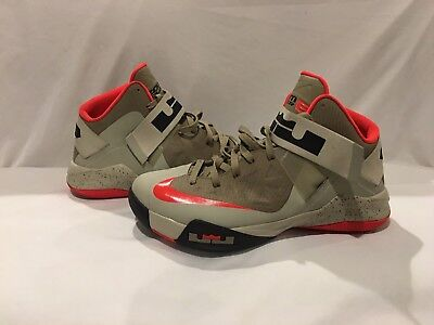 8b4a2153aa1 NIKE LEBRON ZOOM Soldier 6 VI Bamboo Crimson good condition size 12 ...