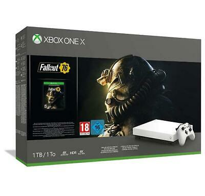 Console Xbox One X 1 Tb + Fallout 76 Robotic White Edition Limited Bundle