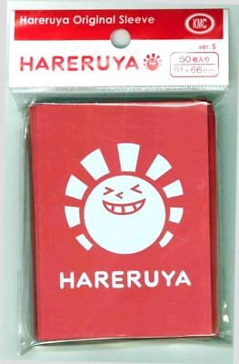 KMC Hareruya Original Sleeves - Standard Size - RED (50)