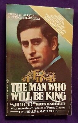 The Man Who Will Be King, Prince Charles, 1981, Vintage Book, British Royals