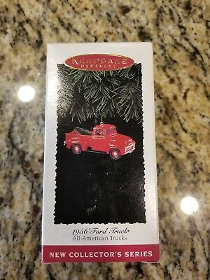 Hallmark Keepsake Christmas Ornament 1956 Ford Truck All American Trucks MIB