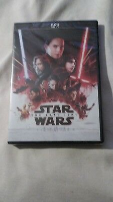 Star Wars: Episode VIII - The Last Jedi (DVD,2017) Free Fast Shipping From USA