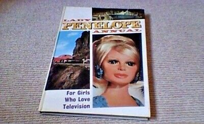 LADY PENELOPE ANNUAL 1st UK ONLY H/B 1968 Thunderbirds Gerry Anderson U.N.C.L.E.