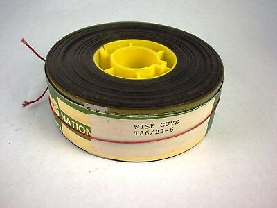 """MOVIE TRAILER 35mm """"WISE GUYS"""" COLOR 1986 4"""" REEL REDUCED 50% NOW!"""