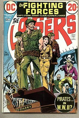 Our Fighting Forces  #139-1972  fn+  The Losers Joe Kubert