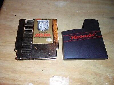 Legend of Zelda Gold Original Nintendo NES game 100% Authentic Tested clean
