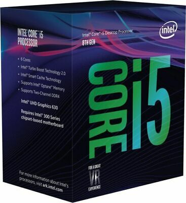 Intel Core i5-8400+Optane 2.80GHz s1151 Coffee Lake 8th Generation Boxed + Op...