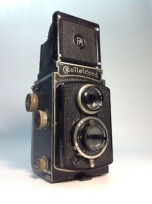 Rollie Rolliecord Twin Lens Camera 1930's