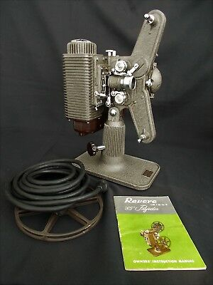 Vintage Revere Working Movie Projector With Manual & Case