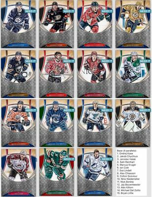 18-19 FIVE STAR WAVE 2 SILVER BASE SET OF 15 CARDS Topps NHL Skate Digital