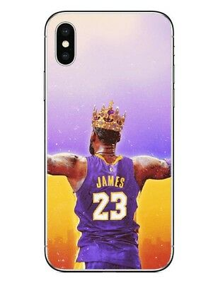 afbe6adb7d706d La Clutch Goat The King Lebron James Case Cover For iPhone Xr Xs Xs Max  Apple