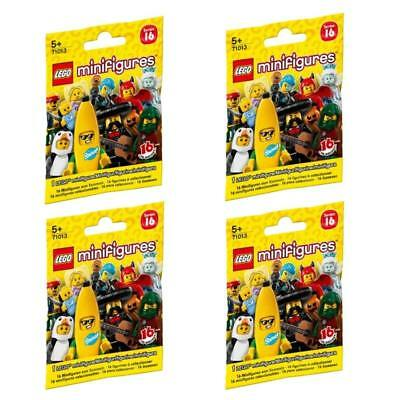 2x Lego Minifigures Series 16 Blind Bag 71013 Sealed New Lot Of 2