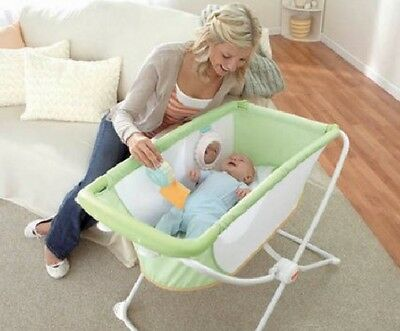 Portable Bassinet Cradle Sleeper Newborn Crib Folding Bed Rock N Play Baby Gift
