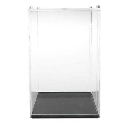 10x10x14cm Clear Acrylic Display Box for Anime Figures Doll Show Case