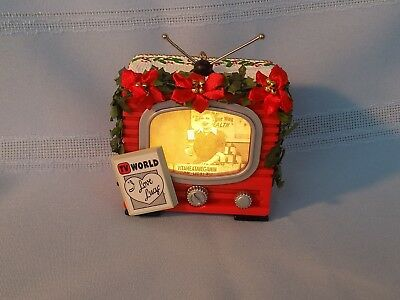 "Carlton Light & Sound Lucy Ornament An ""I Love Lucy"" Christmas TV"