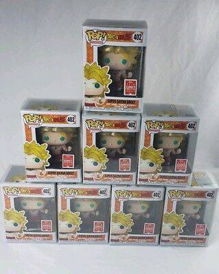 Funko Pop Super Saiyan Broly #402 Dragonball Z SDCC With Funko Protector !!!
