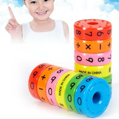 Kids Magnetic Math Counting Game Kids Educational Learning Numbers Puzzle Toys