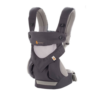 New Ergo 360 Four Position breathable carrier Dusty gray