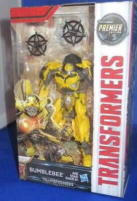 Transformers The Last Knight Premier Edition Bumblebee Autobot Collectible