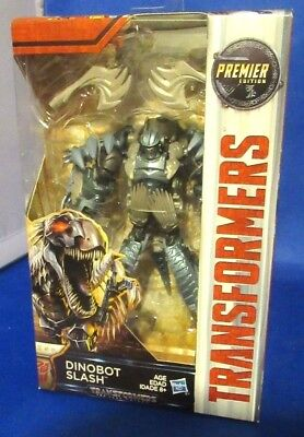 Transformers The Last Knight Premier Edition Dinobot Slash Collectible Figure
