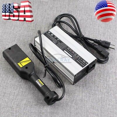 "For Golf Cart 36V System Battery Charger Star Ez-Go Club Car TXT Yamaha ""D""Style"