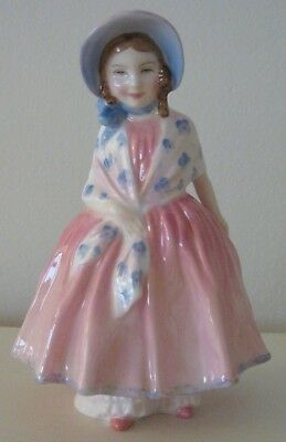 Vintage Retired Royal Doulton Lily Hn 2341 Bone China Figurine Made In England