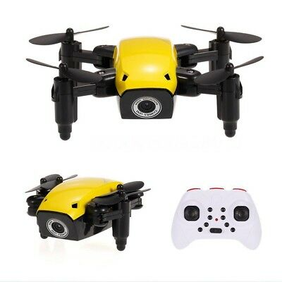 Mini 4-Axis Foldable S9 RC Quadcopter Pocket RC Helicopter HD Camera Drone UFO