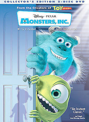 Monsters, Inc. (Two-Disc Collector's Edition), DVD, Billy Crystal, John Goodman,